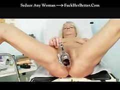 Granny, Doctor, Injection gyno exam after, Drtuber